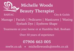 Michelle Woods Beauty Therapist