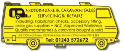 Motorhome & Caravan Sales, Servicing and Repairs