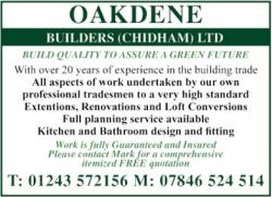 Oakdene Builders (Chidham) Ltd
