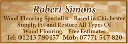 Robert Simons – Wood Flooring Specialist