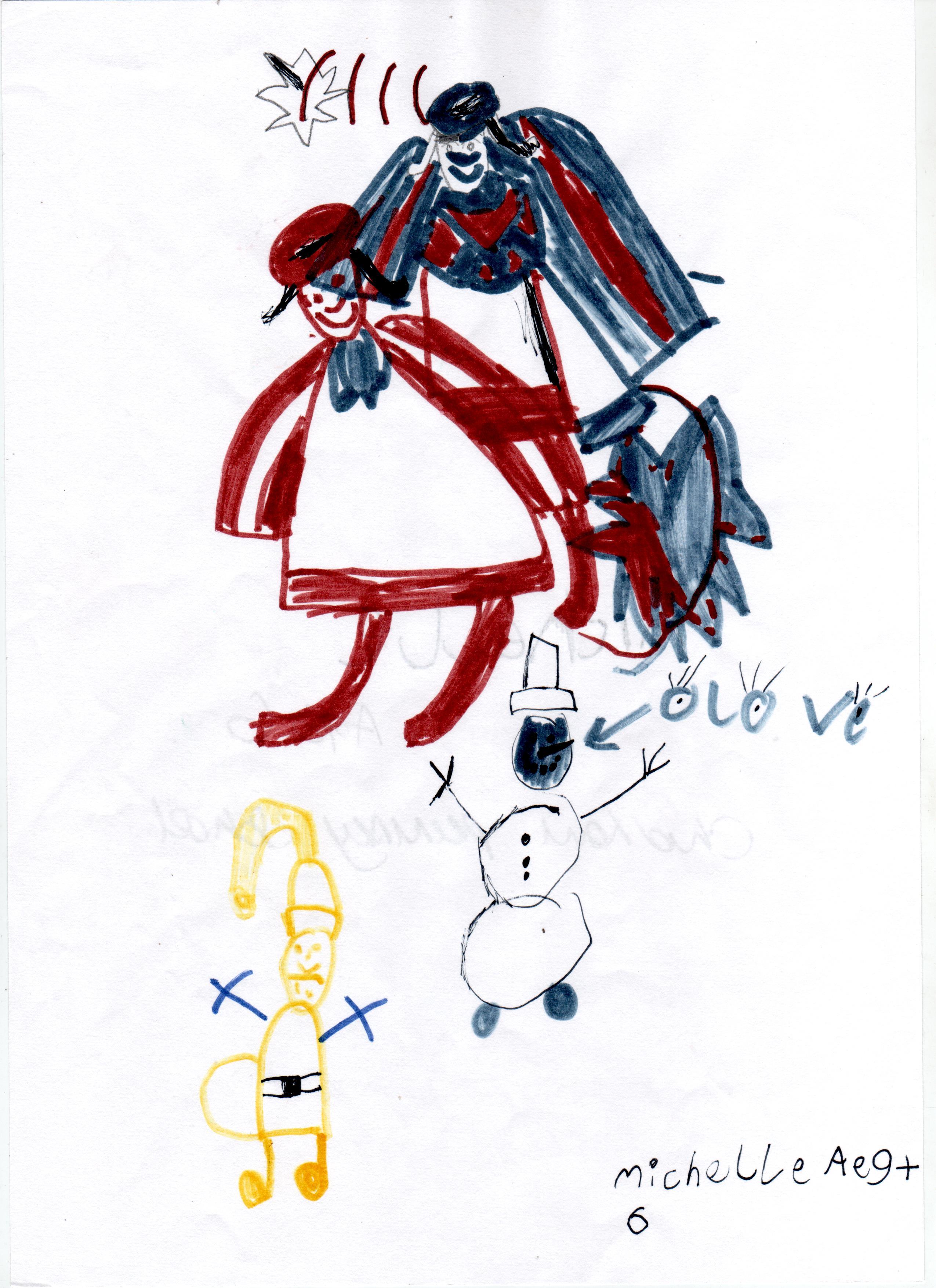 Michelle, age 6