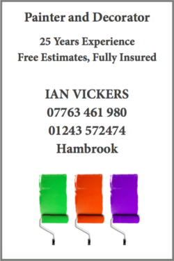 Painter and Decorator, Ian Vickers