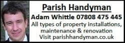 Parish Handyman – Adam Whittle