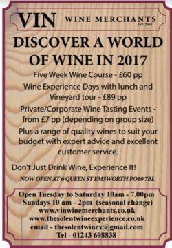 Vin Wine Merchants & The Solent Wine Experience
