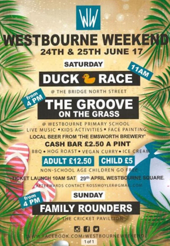Westbourne Weekend 2017