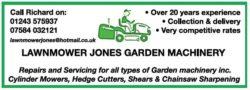 Lawnmower Jones Garden Machinery
